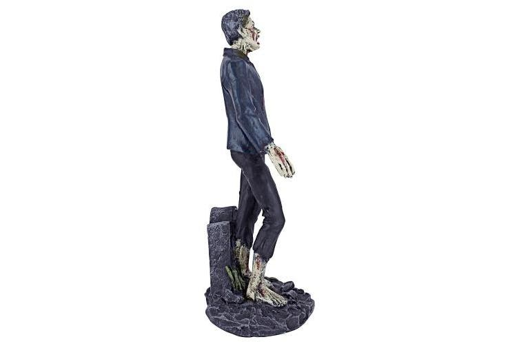 (Tombstone) - Design Toscano Dead Walking Zombie Zombie with Tombstone Statue