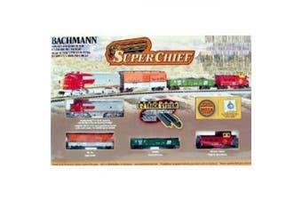 Bachmann Trains Super Chief N Scale Ready To Run Electric Train Set