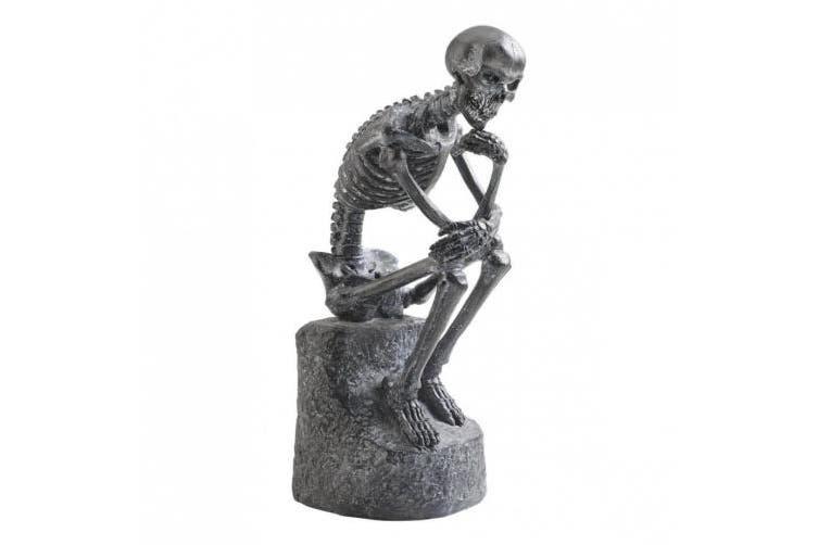 Design Toscano The Skeleton Thinker Statue