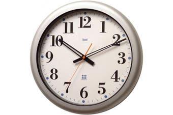 Bai 41cm Aquamaster Weatherproof Wall Clock, Bodoni White