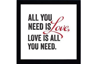 Artistic Reflections All You Need Is Love Print Art
