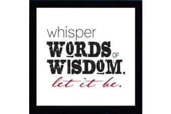 Artistic Reflections Whisper Words Print Art