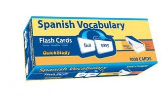 Spanish Vocabulary (Quick Study: Quizzer)