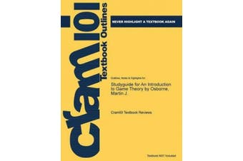 Studyguide for an Introduction to Game Theory by Osborne, Martin J.
