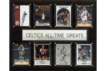 C and I Collectables 1215ATGCELT NBA Boston Celtics All-Time Greats Plaque
