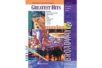 Alfred 00-16506 Basic Adult Piano Course- Greatest Hits Book 2 - Music Book