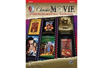 Alfred 00-35104 Classic Movie Instrumental Solos - Music Book