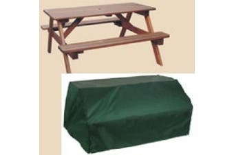 (180cm  x 140cm  x 80cm ) - Bosmere C630 8 Seater Picnic Table Cover