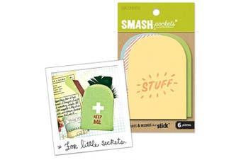 K & Company SMASH Pockets Secret Embellishments 6-ct.