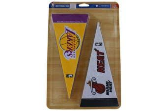 Caseys Distributing 9474622644 NBA Mini Pennant Set