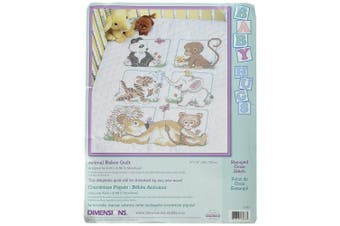 (Animal Babes Quilt) - Dimensions Needlecrafts Stamped Cross Stitch, Animal Babes Quilt