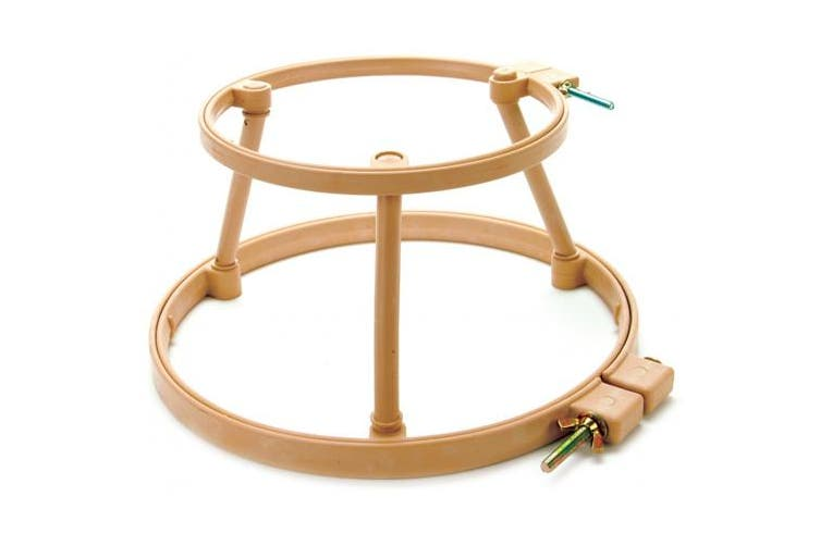 """Morgan Products Lap Stand Combo 5"""" & 7"""" Hoops-"""