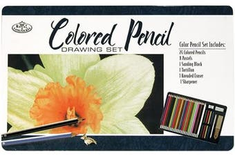 Coloured Pencil Drawing Set-
