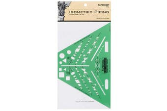 (Isometric Piping) - Rapidesign Isometric Piping Template, 1 Each (R43)