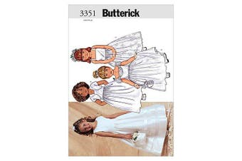 (2-3-4-5) - Butterick Pattern Children's and Girls' Jacket and Dress,