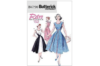 (BB (8-10-12-14)) - Butterick Patterns B4790 Misses' Wrap Dress, Size BB (8-10-12-14)