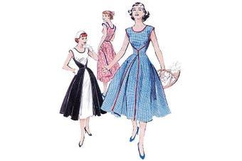 (FF (16-18-20-22)) - Butterick Pattern Misses' Wrap Dress, FF (16, 18, 20, 22)