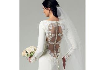 (AX5 (4-6-8-10-12)) - Butterick Pattern Misses' Dress, AX5