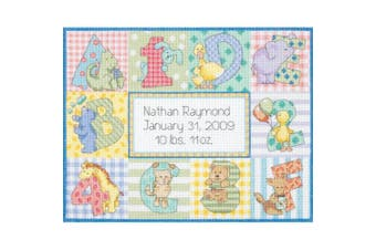 Dimensions/Baby Hugs Counted Cross Stitch Kit 30cm x 23cm