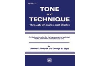 Alfred Publishing 00-EL03189 Tone and Technique - Music Book