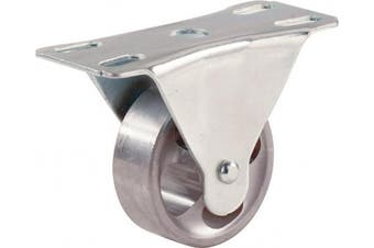 (2 inch) - Shepherd Hardware 9182 5.1cm Cast Iron Rigid Plate Caster, 60kg Load Capacity