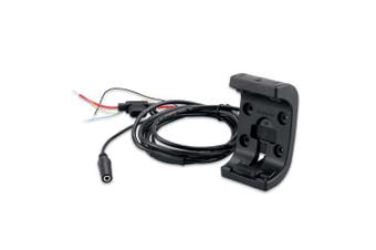 Garmin 010-11654-01 Amps Rugged Mount with Audio/Power Cable, Black
