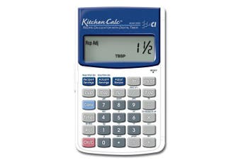 (Handheld) - Calculated Industries KitchenCalc 8300 Recipe Calculator with Digital Timer