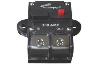 Audiopipe CB100AP 100Amp Manually Resettable Circuit Breaker