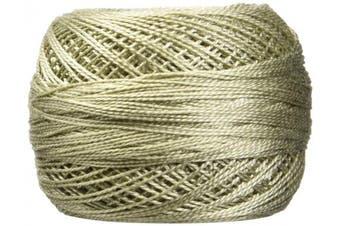 (Dark Beige Gray) - DMC 116 12-642 Pearl Cotton Thread Balls, Dark Beige Grey, Size 12