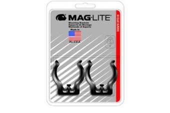 MagLITE MAGASXD026 D-Cell Mounting Brackets- Pair