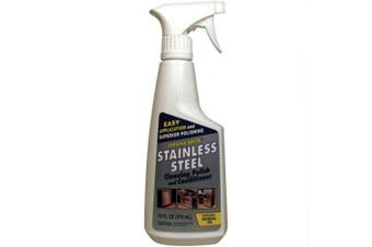 (Stainless Steel Polish) - CERAMA BRYTE 47616 STAINLESS STEEL CLEANING POLISH