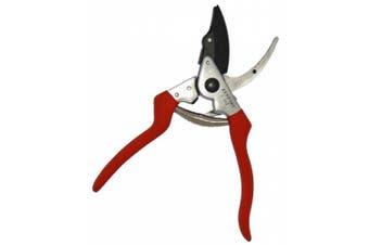 (Cut-n-hold) - Zenport Z202 Heavy Duty Pruner, Cut-n-Hold, Red Handles, 20cm