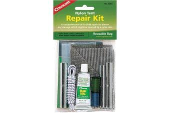 (One Size, Black) - Coghlan's 0205 Nylon Tent Repair Kit