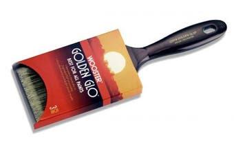 (2 Inch) - Paint Brushes: Wooster Brushes 5.1cm . Golden Glo Nylon/Polyester Flat Brush 0Q31180020