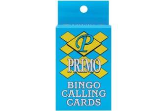 Dabn Stic 415835 Bingo Calling Cards 75-Pkg