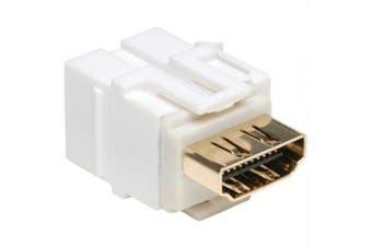 HDMI Keystone Snap-in Wallplate Coupler, HDMI F/F