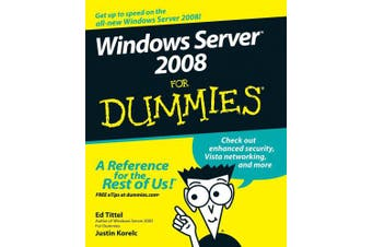 Windows Server 2008 for Dummies (For Dummies S.)