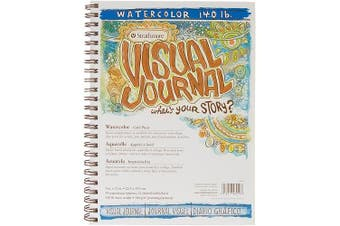 Strathmore ST460-59 23cm . x 30cm . Cold Press Visual Journal Watercolour Book - 44 Pages
