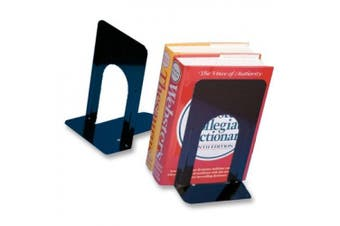 (23cm ) - Charles Leonard CHL87915 Bookends 1 Pair 9In Height Black