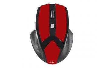 (red) - Inland USB Optical Gaming Mouse