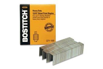 Bostitch Heavy Duty Premium Staples, Staples 130-165 Sheets, 2.1cm - 1,000 Staples (SB3513/16HC-1M)