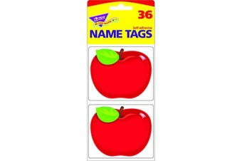 (Shiny Red Apple) - Trend Enterprises Inc. T-68080 Shiny Red Apple Name Tags