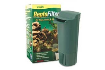 (90 GPH) - Tetra ReptoFilter for Terrariums, For Frogs/Newts/Turtles