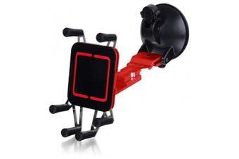 LUXA2 LH0013-B H5- Premium Car Mount - Retail Packaging - Red