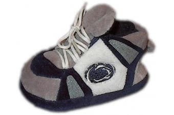 (Penn State Nittany Lions) - Happy Feet and Comfy Feet OFFICIALLY licenced NCAA College Baby Slippers - UP TO 9 MONTHS