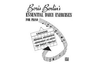 Alfred 00-V1011 Essential Daily Exercises for Piano - Music Book