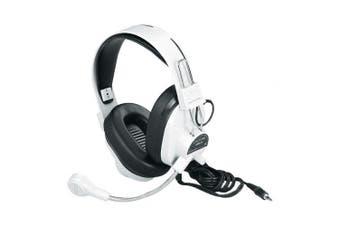 Califone International 3066AV Deluxe Multimedia Stereo Headphones With Boom Microphone