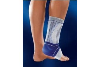 (4, Black) - Bauerfeind - AchilloTrain Pro - Achilles Tendon Support - Breathable Knit Ankle Brace for Targeted Relief of Achilles Tendon Pain Without Limiting Mobility, Inflammation Relief