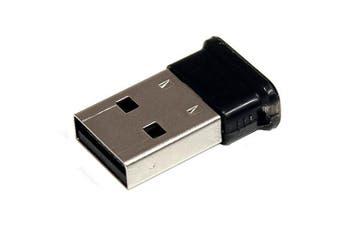 StarTech.com Mini USB Bluetooth 2.1 Adapter - Class 1 EDR Wireless Network Adapter (USBBT1EDR2) -