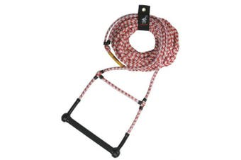 Airhead AHSR-2 Water Ski Rope Deluxe 23m Deep V Finger Guards